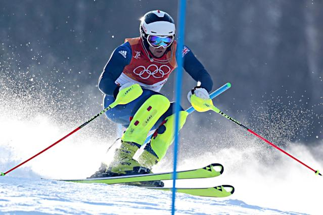 Dave Ryding achieves career-best, top ten finish for Team GB in the slalom at Winter Olympics 2018