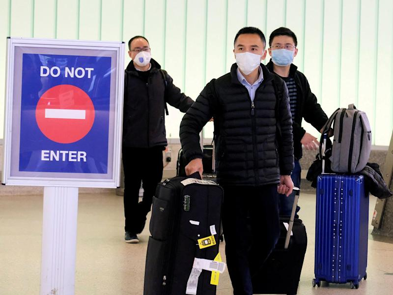 The US has introduced travel restrictions in an effort to restrict the spread of the coronavirus: Reuters