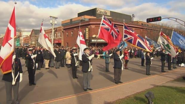 The legion is the 'guardian of remembrance' in Canada, said Owen Parkhouse.