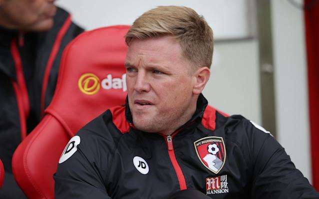 Eddie Howe's Bournemouth won 1-0 at Sunderland to relegate to Black Cats - Rex Features