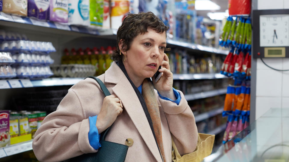 Olivia Colman plays Anne, daughter of Anthony Hopkins' character, in 'The Father'. (Sean Gleason/Lionsgate)