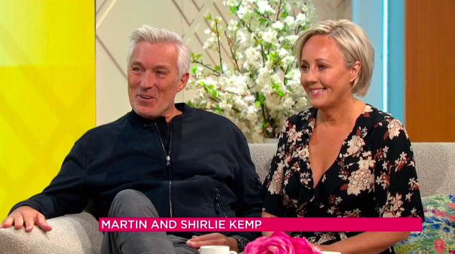 Married musicians Martin and Shirlie Kemp appeared on 'Lorraine' to announce that they've finally made an album after nearly 40 years together (ITV)