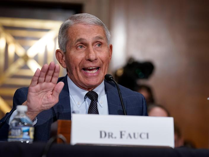 Dr Fauci (Getty Images)