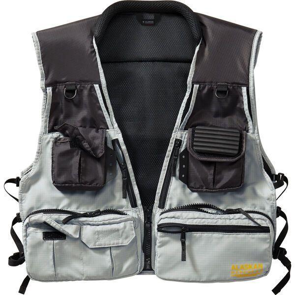 """<p><strong>1 Review</strong></p><p>duluthtrading.com</p><p><strong>$44.99</strong></p><p><a href=""""https://www.duluthtrading.com/alaskan-hardgear-fishing-vest-38801.html"""" rel=""""nofollow noopener"""" target=""""_blank"""" data-ylk=""""slk:BUY IT HERE"""" class=""""link rapid-noclick-resp"""">BUY IT HERE</a></p><p>Duluth Trading Co.'s Alaskan Hardgear Fishing Vest is a new essential that's been tested to withstand some of the most extreme outdoor activities: Alaskan commercial and sport fishing. One of six pieces in the Alaskan Hardgear Fishing line, this fishing vest is more than a safe bet, it's constructed to keep you at the top of your game on the water. 13 tool holders are strategically placed, and it's also made of durable materials that are resistant to hook snags, ocean spray, rain and sweat.</p>"""