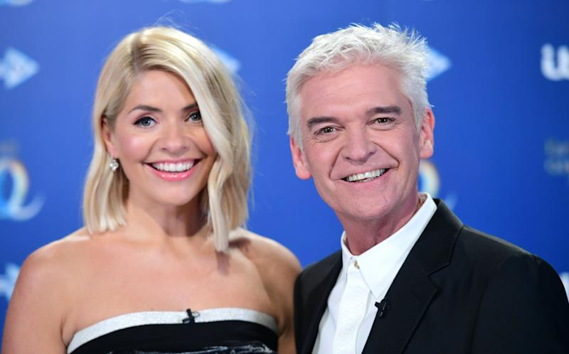 Holly Willoughby and Phillip Schofield (Photo: Ian West - PA Images via Getty Images)
