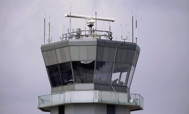 Texas Gov. Rick Perry is asking his state's transportation bureau to pay to keep its air-traffic controllers on the job.