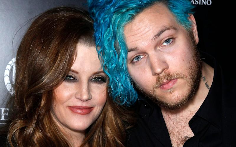 His manager said Keough's mother, Lisa-Marie Presley, was devastated by the untimely death of her son - AdMedia