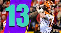 <p>Newsflash: The Bengals can't match up with the Chiefs offense. Nothing we didn't know before kickoff. (Andy Dalton) </p>