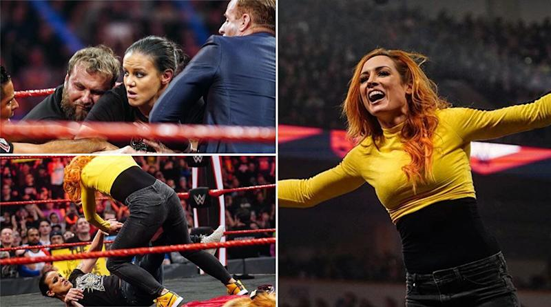 WWE Raw February 24, 2020 Results and Highlights: Becky Lynch Gets into Brawl With Shayna Baszler During Contract Signing for Women's Elimination Chamber Match (View Pics & Videos