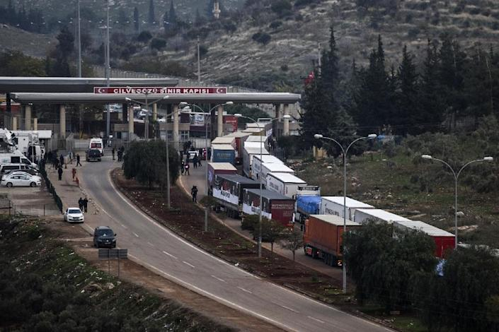 According to Turkish state-run news agency Anadolu, a Syrian military plane crashed on March 4, 2017, in the Turkish province of Hatay (pictured) (AFP Photo/BULENT KILIC)