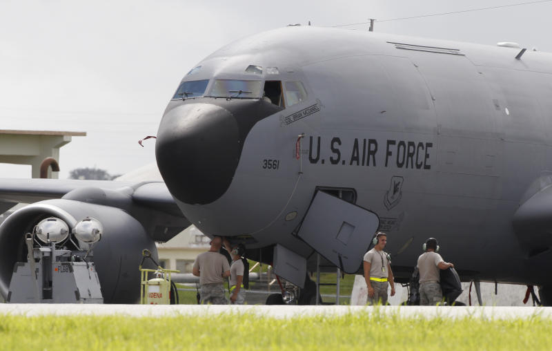 US Air Force keeps fleet of aging warhorses flying