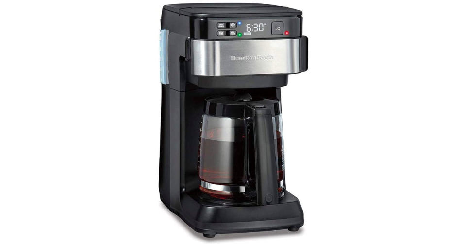 Hamilton Beach Works with Alexa Smart Coffee Maker (Photo: Amazon)