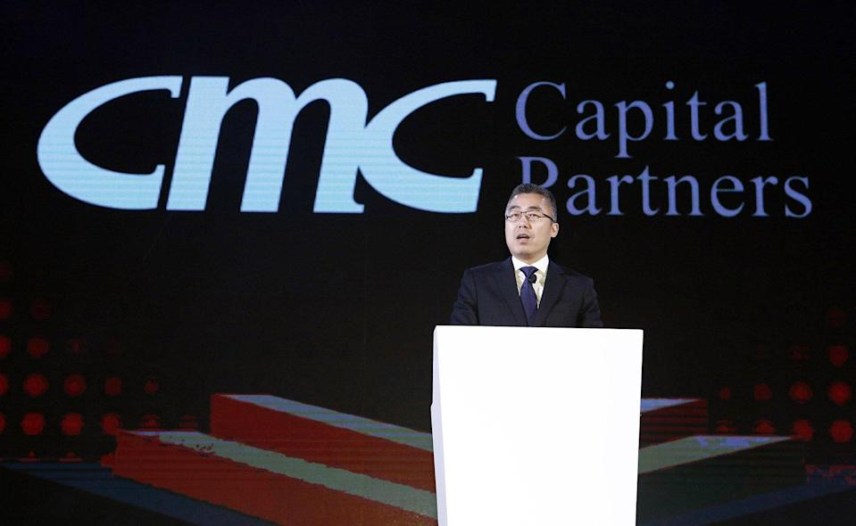 Li Ruigang, founding chairman and CEO of CMC Inc, also runs a private equity fund backed by Singapore state investment firms. Photo: Handout
