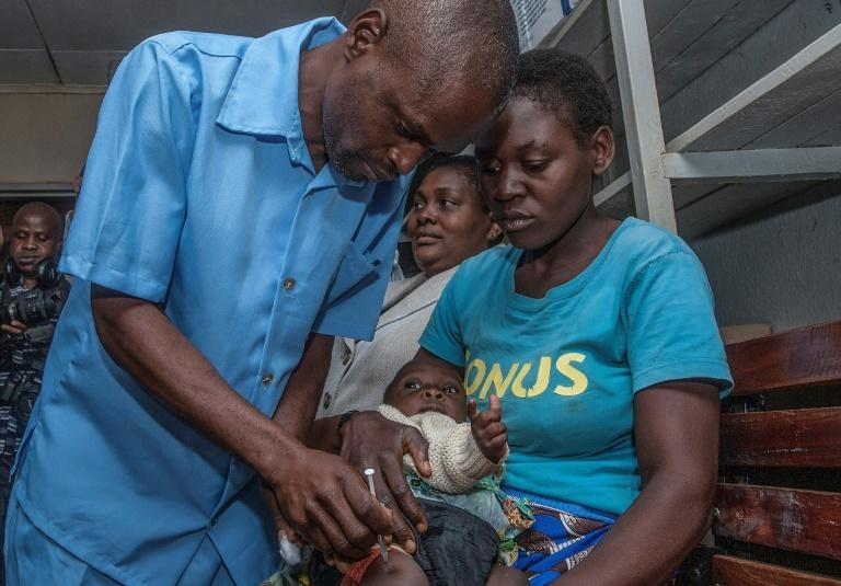 Malawi joined Ghana and Kenya in in the initial pilot programme for the malaria vaccine (AFP/AMOS GUMULIRA)
