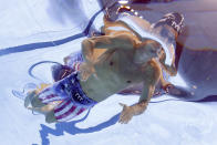<p>TOKYO, JAPAN - JULY 29: Michael Andrew of Team United States competes in the Men's 200m Individual Medley Semifinal on day six of the Tokyo 2020 Olympic Games at Tokyo Aquatics Centre on July 29, 2021 in Tokyo, Japan. (Photo by Clive Rose/Getty Images)</p>