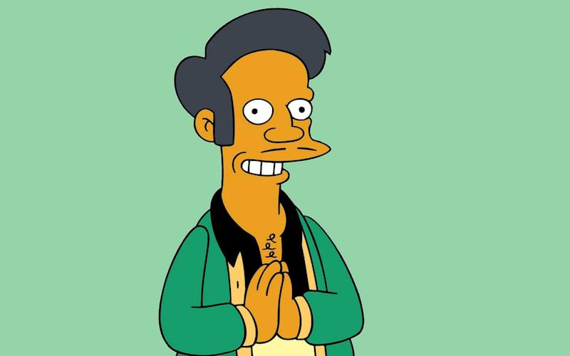 The character of Apu has led to accusations of racism against The Simpsons