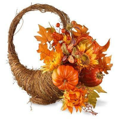 """<p><strong>National Tree Company</strong></p><p>target.com</p><p><strong>$56.99</strong></p><p><a href=""""https://www.target.com/p/national-tree-company-maple-leaf-and-pumpkin-room-d-cor-red-orange-22/-/A-51130531"""" rel=""""nofollow noopener"""" target=""""_blank"""" data-ylk=""""slk:Shop Now"""" class=""""link rapid-noclick-resp"""">Shop Now</a></p><p>Maple leaves, pumpkins, and acorns! There's really no better way to decorate for fall. This is a great door decor option for anyone who wants to branch away from the classic wreath. </p>"""