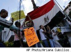 Egypt's president shut down the Internet on Friday to try to calm the protests rocking the country.