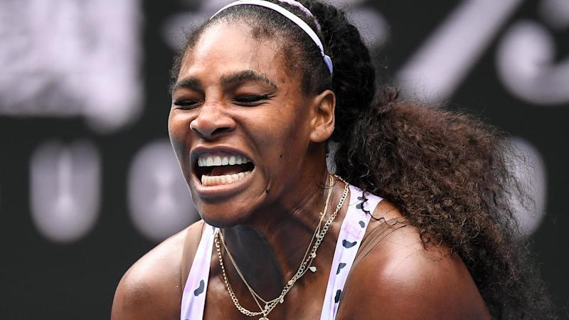FANTASTIC. Serena Williams joins the WTA event in Lexington with Sloane Stephens