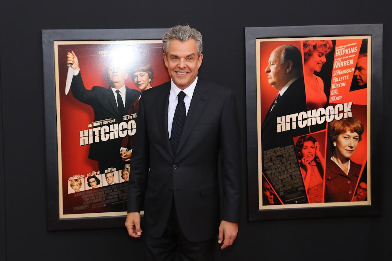 "NEW YORK, NY - NOVEMBER 18:  Actor Danny Huston attends the ""Hitchcock"" New York Premiere at Ziegfeld Theater on November 18, 2012 in New York City.  (Photo by Neilson Barnard/Getty Images)"