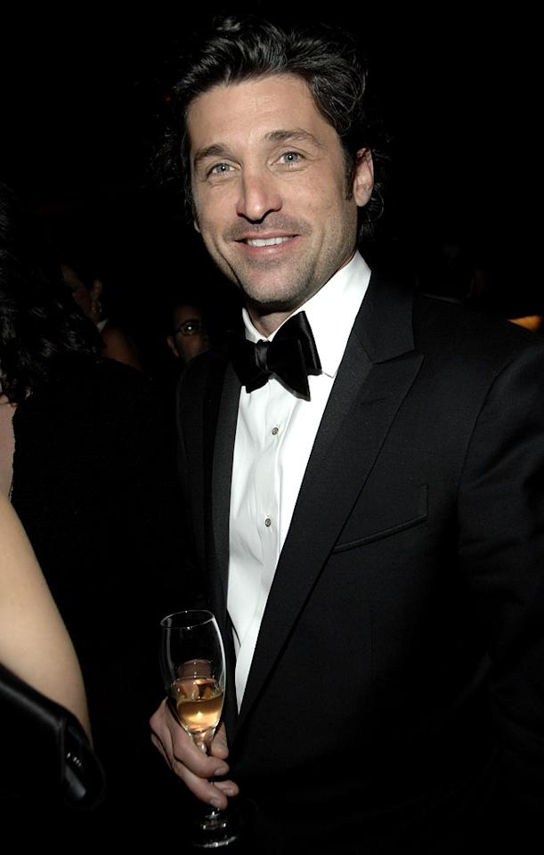 """<a href=""""/patrick-dempsey/contributor/31744"""">Patrick Dempsey</a> at the In Style and Warner Bros. 2007 Golden Globe After Party."""