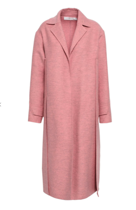 Victoria Beckham Wool-felt coat. Image via The Outnet.