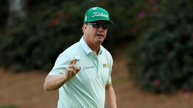 The likes of Phil Mickelson and Rory McIlroy could be happy with their first-round work at Augusta, but Charley Hoffman was the star turn.