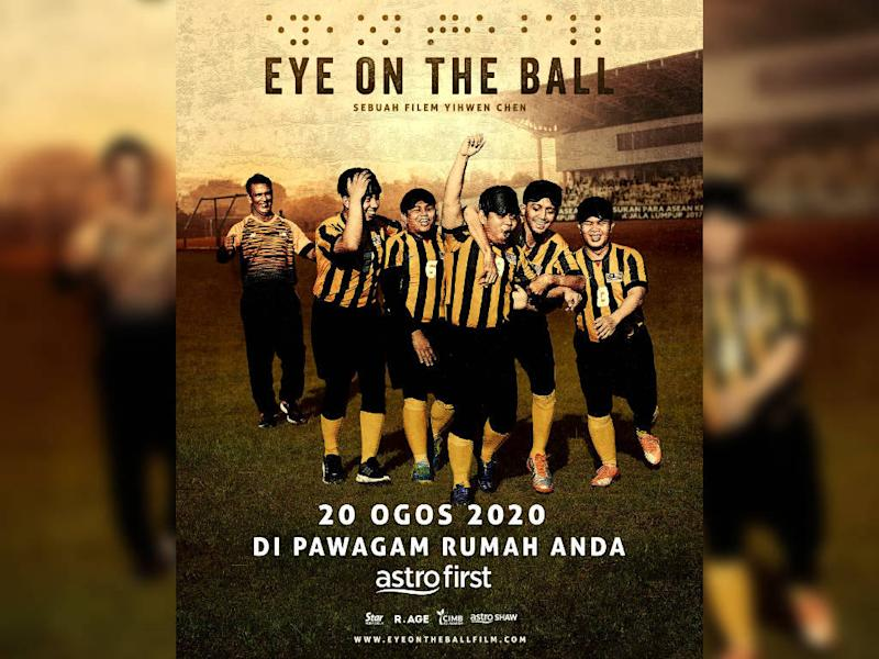 """Eye on the Ball"" tells the true story of a team of blind Malaysian footballers."