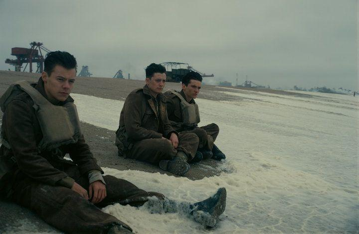 "Harry Styles in ""Dunkirk."""