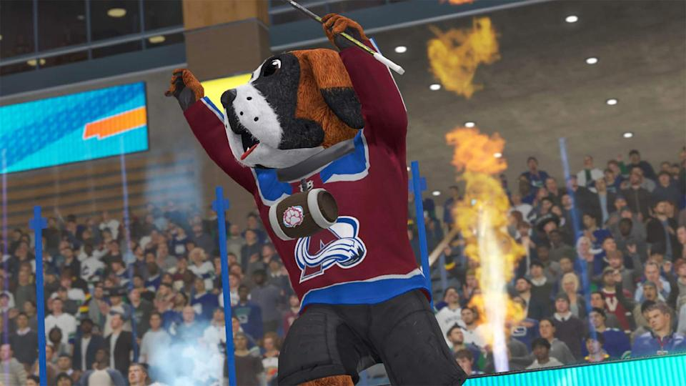 Screenshots of NHL 21 for the PlayStation 4 and Xbox One.
