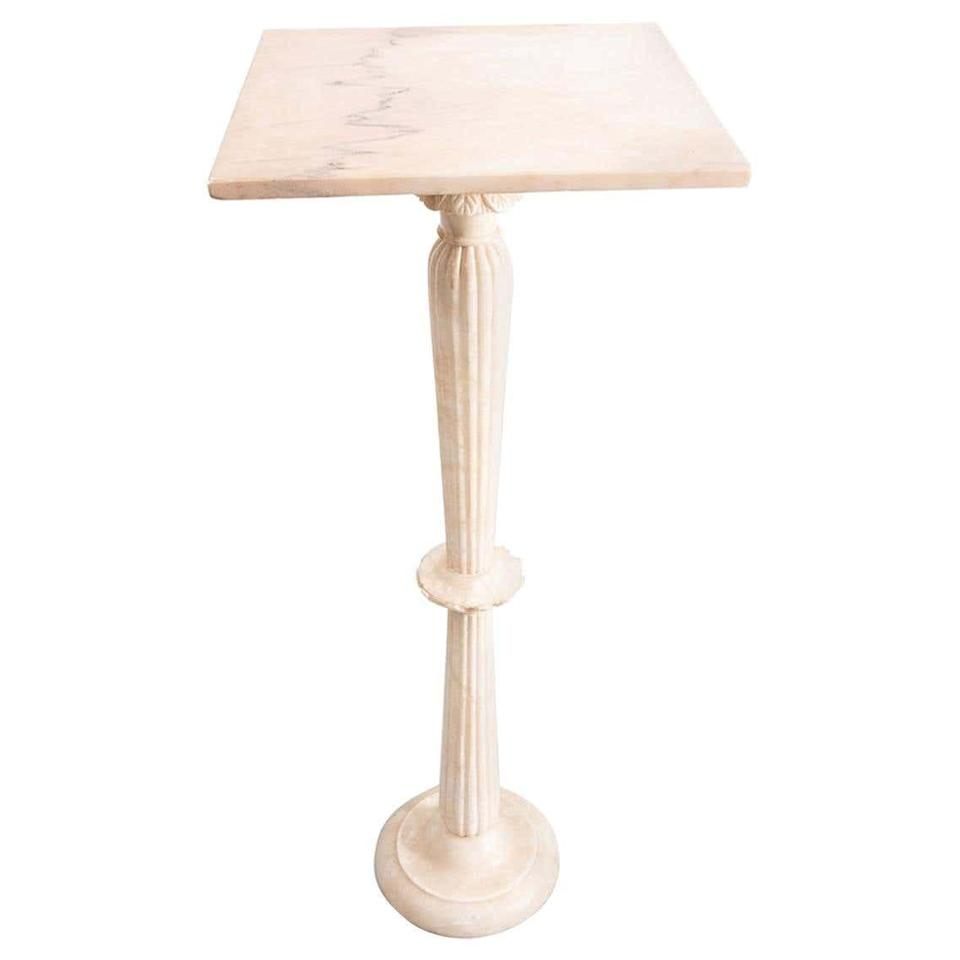 """<p><strong>marble</strong></p><p>1stdibs.com</p><p><strong>$1423.05</strong></p><p><a href=""""https://go.redirectingat.com?id=74968X1596630&url=https%3A%2F%2Fwww.1stdibs.com%2Ffurniture%2Ftables%2Fpedestals%2Fmarble-pedestal-italian-1960s%2Fid-f_22732462%2F&sref=https%3A%2F%2Fwww.elledecor.com%2Fshopping%2Fg23652697%2Findoor-plant-stands%2F"""" rel=""""nofollow noopener"""" target=""""_blank"""" data-ylk=""""slk:Shop Now"""" class=""""link rapid-noclick-resp"""">Shop Now</a></p><p>Clean and sleek, this marble stand will elevate your greenery in the chicest of ways.</p>"""