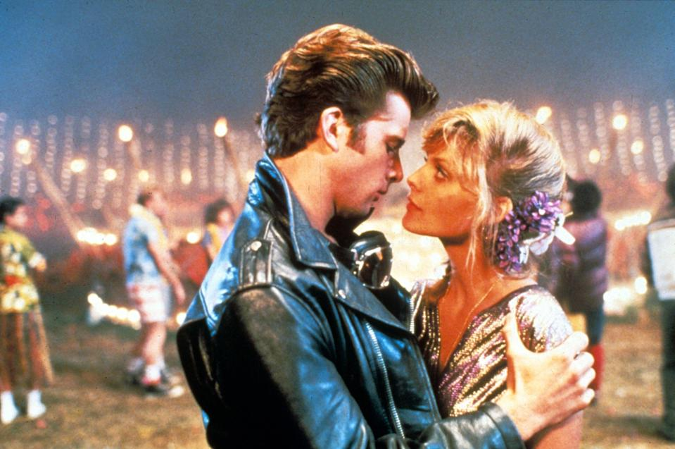 Maxwell Caufield and Michelle Pfeiffer in Grease 2 (Photo: Moviestore/Shutterstock)