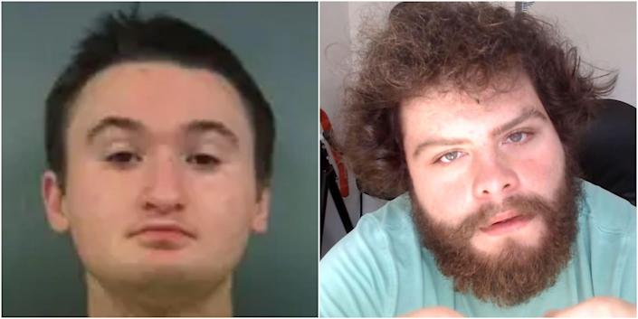 Tres Genco (left) planned a mass shooting, and Jake Davidson (right) conducted a mass shooting. Both self-identified as incels.