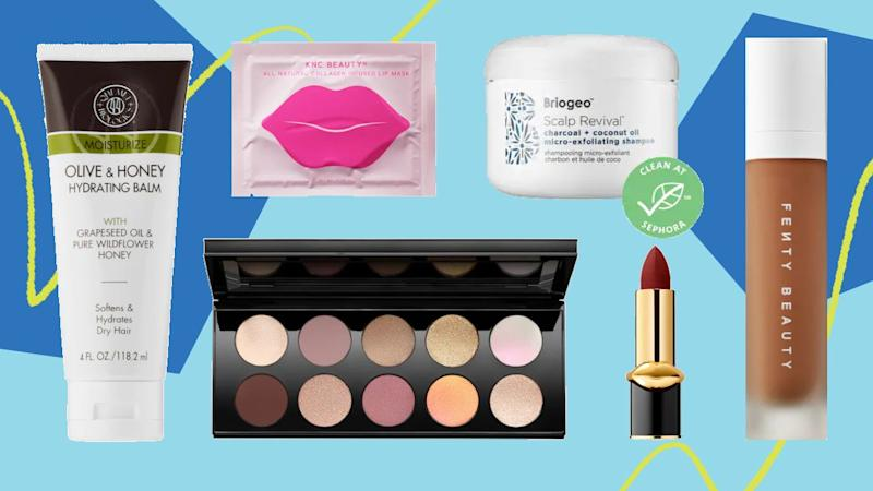 """If you're a devout beauty lover, we don't need to tell you that <a href=""""https://fave.co/2N2VkuW"""" target=""""_blank"""" rel=""""noopener noreferrer"""">Sephora</a> carries beloved Black-owned beauty brands like <a href=""""https://fave.co/2QvD8KJ"""" target=""""_blank"""" rel=""""noopener noreferrer"""">Rihannna's Fenty Beauty</a> and <a href=""""https://fave.co/308Vq9v"""" target=""""_blank"""" rel=""""noopener noreferrer"""">Pat McGrath Labs</a>. But the lesser-known brands you might not know about are <a href=""""https://fave.co/3dE45V5"""" target=""""_blank"""" rel=""""noopener noreferrer"""">Briogeo</a>,<a href=""""https://fave.co/2AEqWl4"""" target=""""_blank"""" rel=""""noopener noreferrer"""">Qhemet Biologics</a>, <a href=""""https://fave.co/3eOV4IY"""" target=""""_blank"""" rel=""""noopener noreferrer"""">KNC Beauty</a>and <a href=""""https://fave.co/3cvDDvG"""" target=""""_blank"""" rel=""""noopener noreferrer"""">Golde</a>, which offers beauty supplements. <br /><br /><a href=""""https://fave.co/2N2VkuW"""" target=""""_blank"""" rel=""""noopener noreferrer"""">Check out Sephora's Collection</a>."""