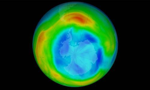 Record-size hole opens in ozone layer above the Arctic