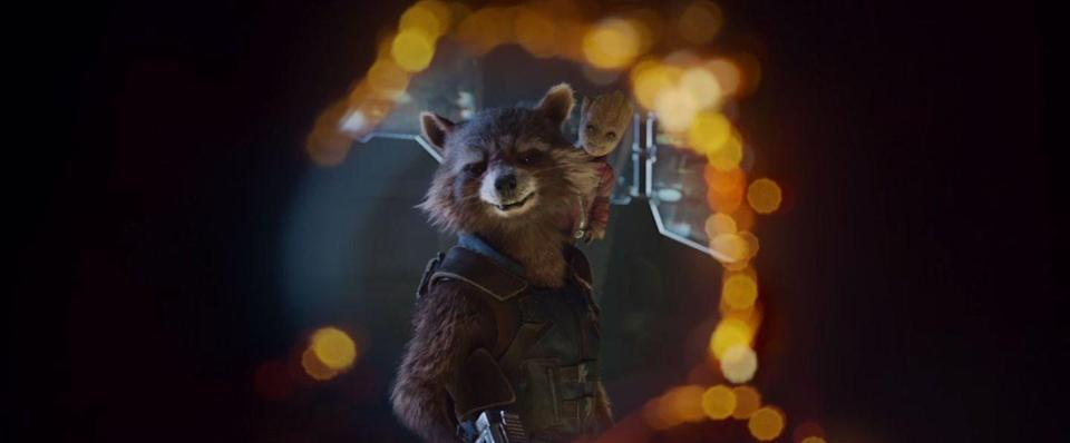 "<p><strong>Last sighted:</strong> Wakanda<br>Rocket has finally united the <a rel=""nofollow noopener"" href=""http://www.digitalspy.com/movies/guardians-of-the-galaxy/"" target=""_blank"" data-ylk=""slk:Guardians"" class=""link rapid-noclick-resp"">Guardians</a> with the Avengers. Shame he's the only proper member left alive.</p>"