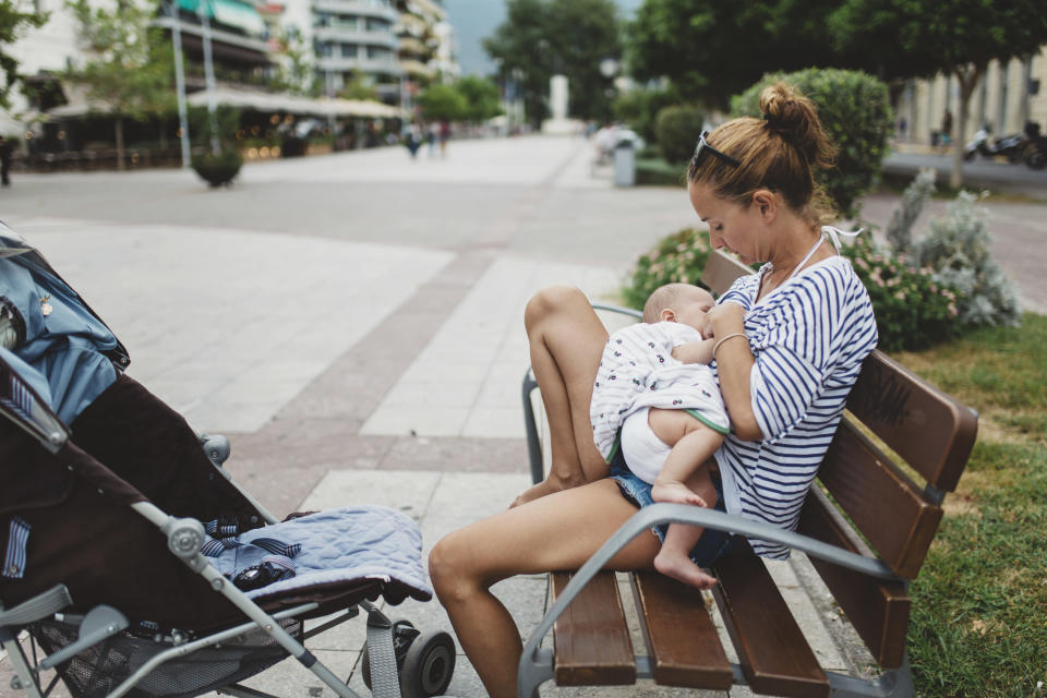 Is breastfeeding shaming a type of sexual harassment? [Photo: Getty]