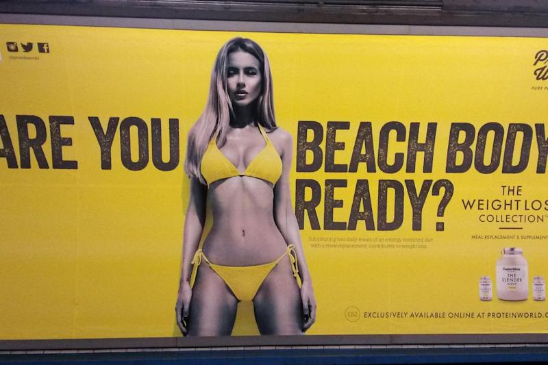 This beach body ready ad sparked 400 complaints (PA)