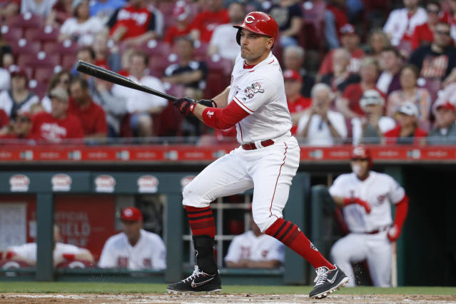 Joey Votto beat Albert Pujols for the 2010 MVP, as he's happy to remind you. (AP)