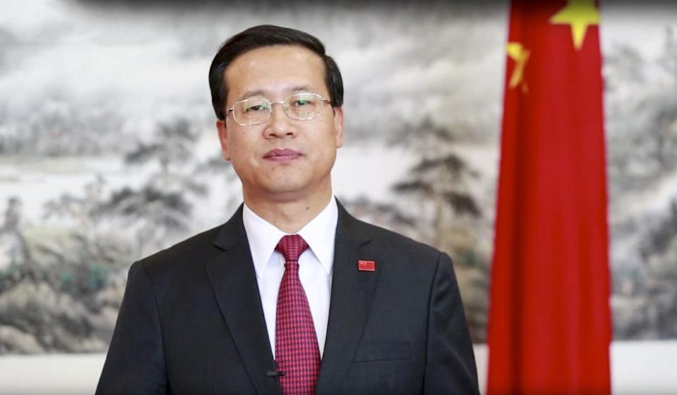 China's foreign vice-minister, Ma Zhaoxu, says the government will arrange more special flights if necessary. Photo: YouTube