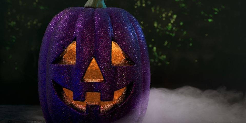 The Real Reason Families Are Displaying Purple Pumpkins This Halloween