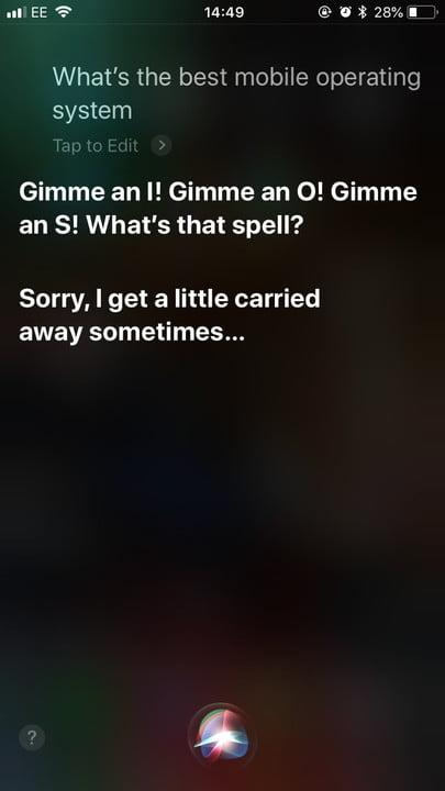 funny questions to ask siri best mobile os 1