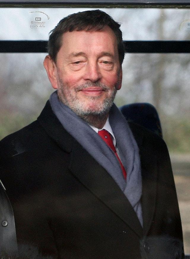 Lord Blunkett took a swipe at the Hollywood actress (David Cheskin/PA)