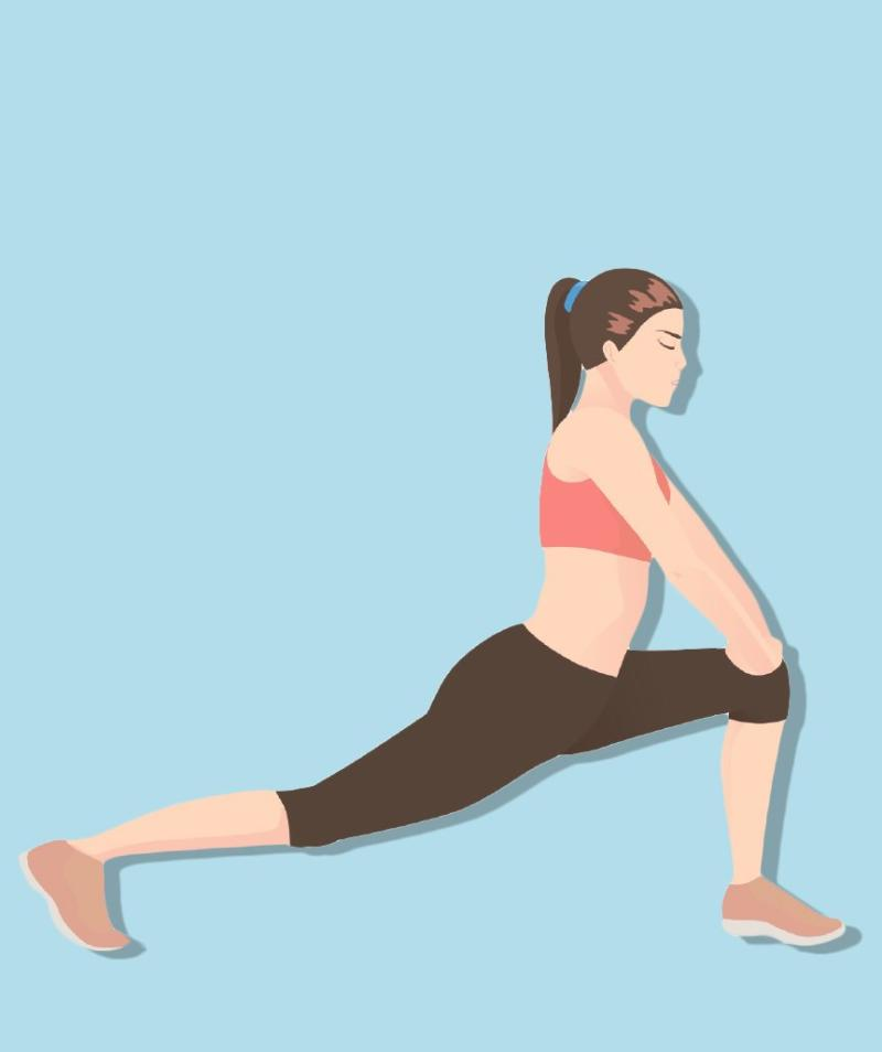 5 Easy, Everyday Hip Stretches for Anyone Who Sits All Day