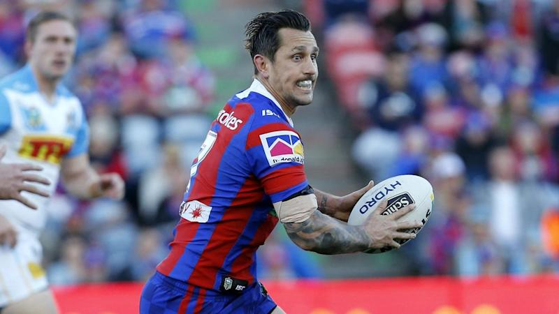 Mitchell Pearce wasn't the star on Saturday but his composure was key for Newcastle