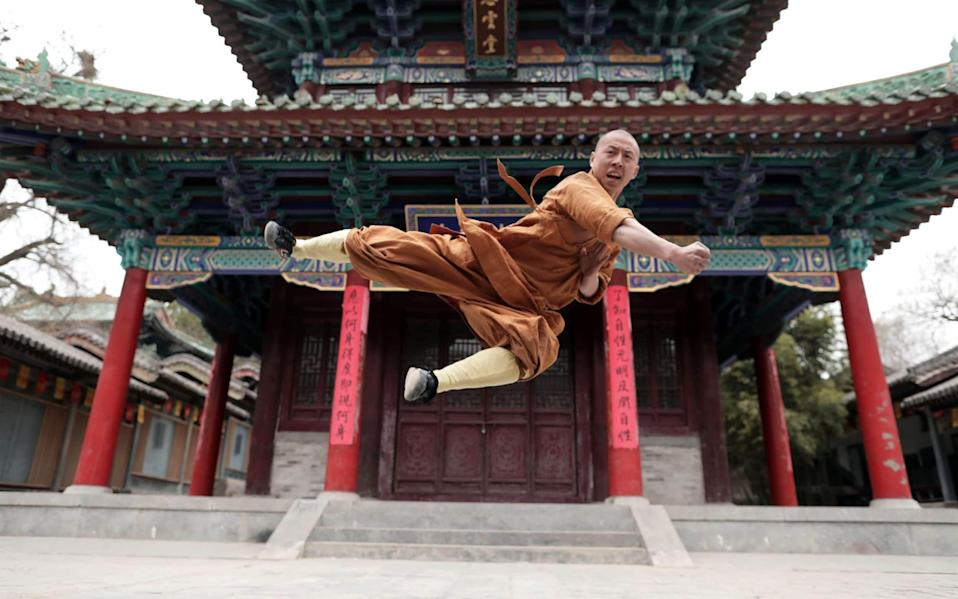 Devoted: a Buddhist warrior monk faced a tough test in the BBC's Sacred Wonders - 1