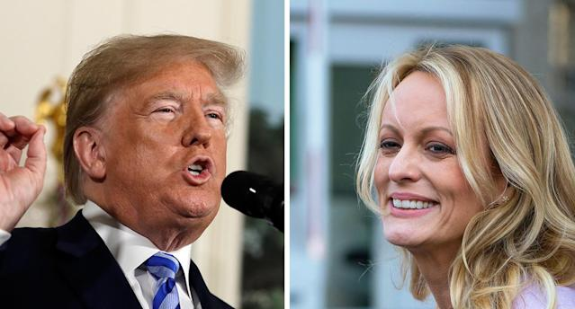 Stormy Daniels offers new details about her se <span>χ</span> life with Donald Trump. (Photo: Getty Images)