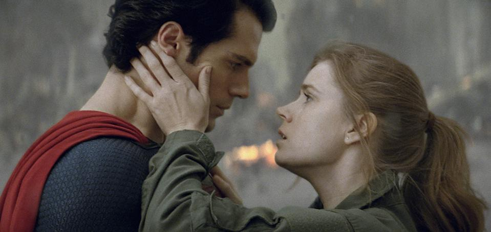 """Henry Cavill and Amy Adams in Warner Bros. Pictures' """"Man of Steel"""" - 2013"""