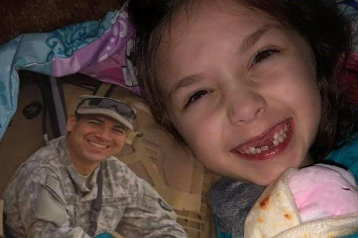 Makenzie Gongora died in her sleep during the early hours of Feb. 2 , her father Nathan's birthday.