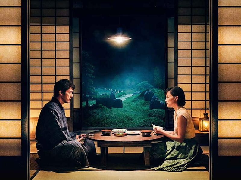 """Starring Hiroshi Abe and Angelica Lee, """"The Garden of Evening Mists"""" has been selected to open a film festival in Osaka, Japan."""